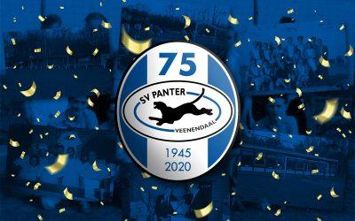 75 jarig jubileum SV Panter