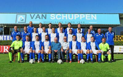 SV Panter 1 heeft selectie rond voor het nieuwe seizoen